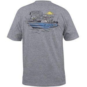 Salt Life Bait Shop Dock Pocket T-Shirt